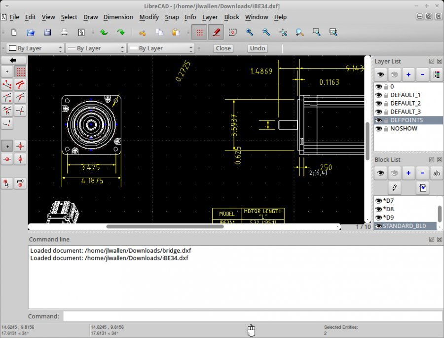 Software a9CAD For Computer Aided Design (CAD) Purpose
